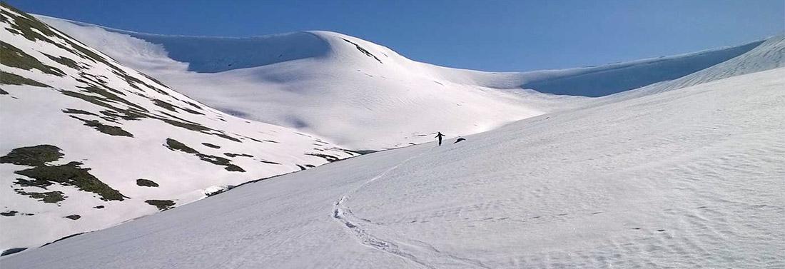 Skiing at Glenshee