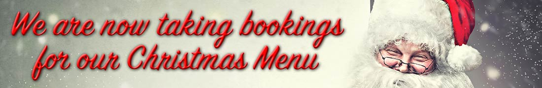 Christmas Menu at the Glenisla Hotel
